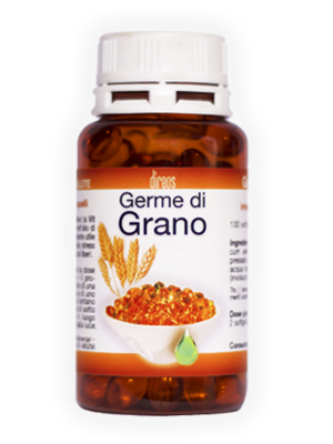 GERME DI GRANO • 100 softgel da 400 mg