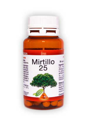 MIRTILLO 25 • 30 cps da 450 mg